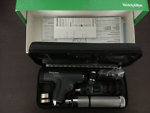 Welch Allyn Panoptic Ophthalmoscope Macroview Otoscope Diagnostic Set 3 5v 97800