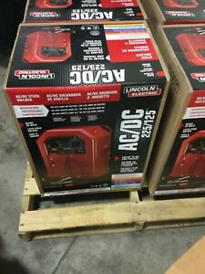 Lincoln Electric 225 Amp Ac And 125 Amp Dc Arc stick Welder Ac dc 225 125 Singl