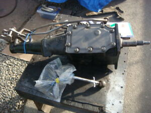 1964 Ford Mustang Cougar Toploader 4 Speed Transmission W Shifter And Linkage