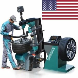 501 137 Tire Changer Wheel Changers Machine Combo 137 Balancer Rim Clamp 12 30