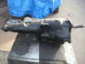 1965 Ford Fairlane 289 T10 4 Speed Transmission Tag Hek S
