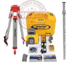 Spectra Precision Gl422n Hl760 Self leveling Dual Slope Laser Level trimble