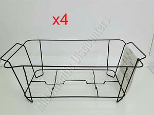 4 Skorr Chafer Frame 65437 Food Warmer Reusable