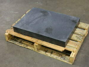 Black Granite Surface Plate 24 X 18 X 3 Toolroom Grade B