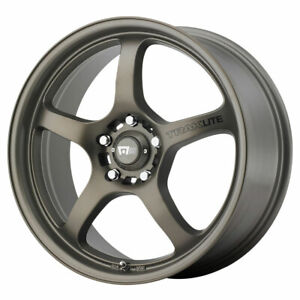 Motegi Mr131 Traklite Rim 17x8 5x112 00 Offset 40 Matte Bronze Quantity Of 4