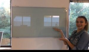 No Chip Long Lasting Tempered Glass White Boards