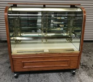 49 Glass Chocolate Refrigerated Bakery Dessert Display Case 7666 Commercial