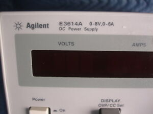 Agilent E3614a Power Supply 0 8 Volts 0 6 Amps Tested Good