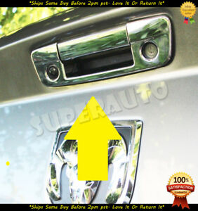For 2009 2018 Dodge Ram Chrome Tailgate Handle Cover Overlay W Keyhole W Camh