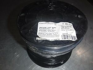 New 500 Awg 14 Stranded Black Wire Mtw 600v 105c Usa General Cable 76812 r8 01