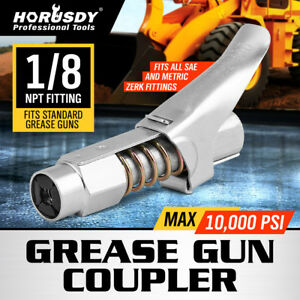 Grease Coupler Locks On Like Air Chuck For Zerk Grease Fittings Horusdy