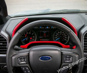 Accessories For Ford F150 2015 2018 Abs Instrument Panel Dashboard Strip Trim