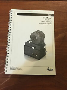 Leica Wild Heerbrugg Dl2 Laser User Manual Surveying