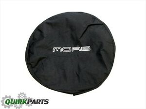 2007 2017 Jeep Wrangler Spare Tire Cover With Moab Logo Oem New Mopar