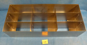 Thermo Fisher Stainless Steel Freezer Racks 24 X 10 X6 Holds 9 Boxes