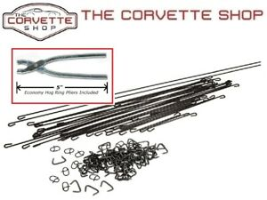C3 Corvette Seat Cover Install Kit With Hog Ring Pliers 1979 1982 X2088 4904