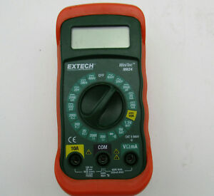 Extech Mn24 Digital Multimeter Autorange Temp voltage Detector Extech