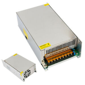 Regulated Switching Dc 12v 50a Converter Adapter 600w Power Supply For Led Light