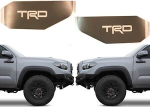 Cement Grey Trd Vinyl Decals For 2016 2018 Toyota Tacoma Side Marker Lights New