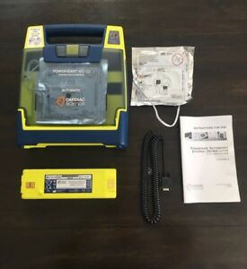 Cardiac Science G3 Automatic Aed Defibrillator W Battery Pads