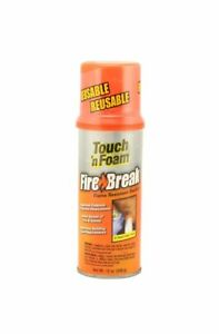 Dap 10012 12 Oz Touch n Foam Firebreak Flame Resistant Sealant Orange