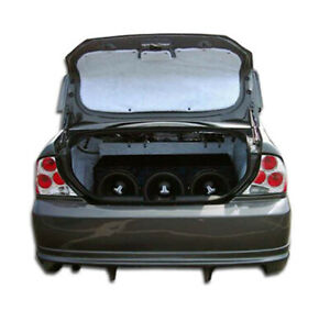 00 04 Ford Focus 4dr Poison Overstock Rear Body Kit Bumper 100031