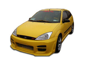 00 04 Ford Focus R34 Duraflex Front Body Kit Bumper 100043