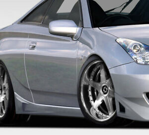 00 05 Toyota Celica Rm Design Duraflex Side Skirts Body Kit 107023