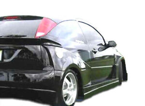 00 07 Ford Focus Hb Q Flared Overstock Rear Fender Flares 100340