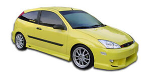 00 07 Ford Focus Poison Duraflex Side Skirts Body Kit 100042
