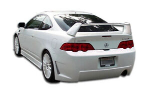 02 04 Acura Rsx B 2 Duraflex Rear Body Kit Bumper 100297