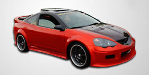 02 04 Acura Rsx Gt300 Duraflex Side Skirts Wide Body Kit 102251
