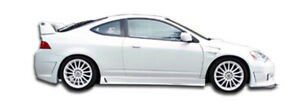02 06 Acura Rsx B 2 Duraflex Side Skirts Body Kit 100298