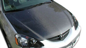 02 06 Acura Rsx Oem Carbon Fiber Creations Body Kit Hood 100384