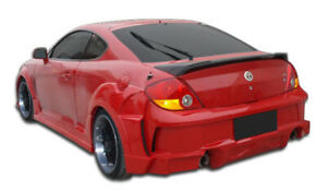 03 06 Fits Hyundai Tiburon Raine Duraflex Rear Wide Body Kit Bumper 107440