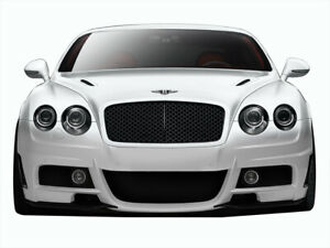 03 10 Bentley Continental Af 1 Aero Function gfk Front Body Kit Bumper 109357
