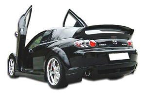 04 08 Mazda Rx8 R speed Duraflex Rear Bumper Lip Body Kit 103156