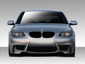 04 10 Bmw 5 Series 1m Look Duraflex Front Body Kit Bumper 109300