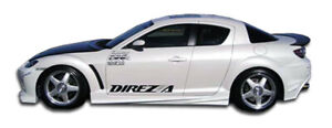 04 11 Mazda Rx8 Velocity Duraflex Side Skirts Body Kit 102300
