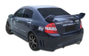 05 09 Kia Spectra Edan Overstock Overstock Side Skirts Body Kit 107448