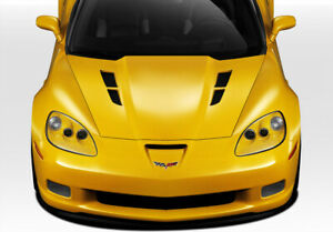 05 13 Chevrolet Corvette Gt Concept Duraflex Body Kit Hood 109534