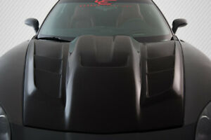 05 13 Chevrolet Corvette Zr Edition 2 Carbon Fiber Body Kit Hood 106142