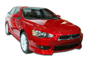 08 17 Mitsubishi Lancer Gt S Duraflex Front Bumper Add On Body Kit 103792