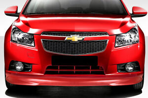 11 12 Chevrolet Cruze N Design Duraflex Front Bumper Lip Body Kit 112709