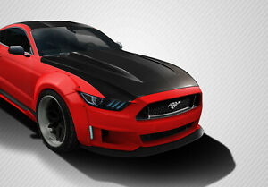 15 17 Ford Mustang Cowl Carbon Fiber Creations Body Kit Hood 112583