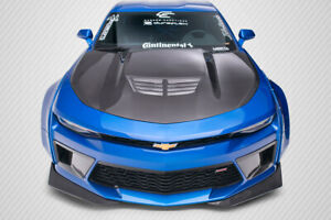 16 18 Chevrolet Camaro Grid Dritech Carbon Fiber Body Kit Hood 113177