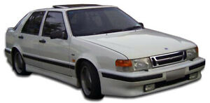 86 91 Saab 9000 5dr Turbo Look Overstock Front Body Kit Bumper 105427