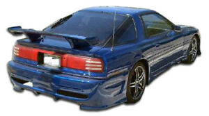 86 92 Toyota Supra Type X Duraflex Rear Body Kit Bumper 100742