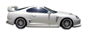 93 98 Toyota Supra Td3000 Duraflex Side Skirts Wide Body Kit 102531