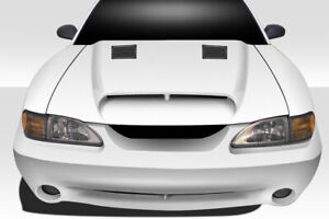 94 98 Ford Mustang Gt500 Duraflex Body Kit Hood 113344